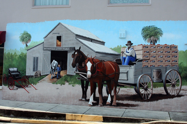 Brooksville florida murals flickr photo sharing for Sheds in brooksville fl