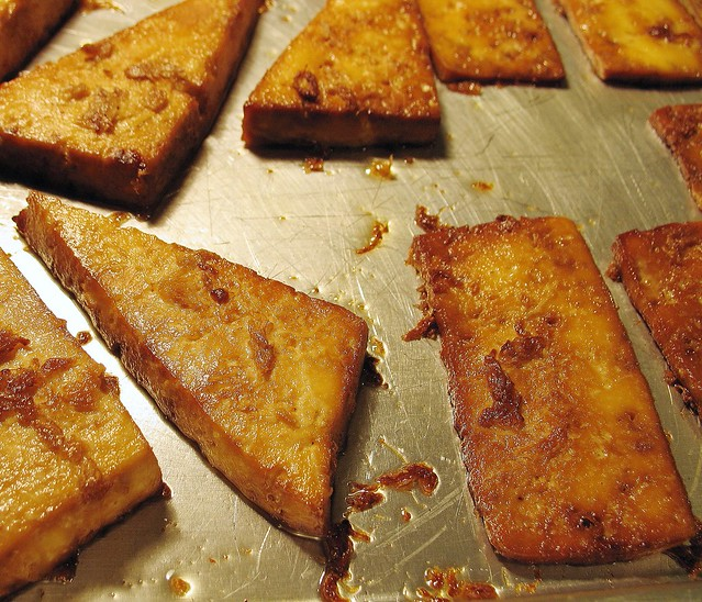 simple baked tofu | Flickr - Photo Sharing!