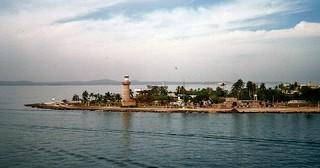 Lighthouse Cartagena Kolumbien