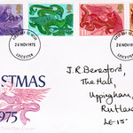 26-Nov-1975 UK First Day Cover