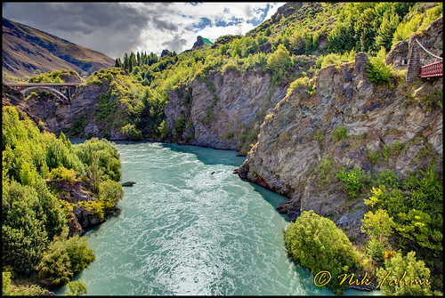 Kawarau River, Queenstown, NZ