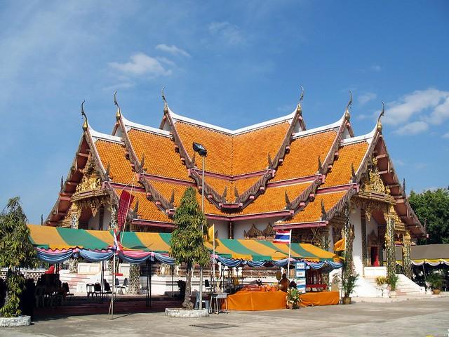 Sakon Nakhon Thailand  city photos : Thailand, Sakon Nakhon Wat Phra That Choeng Chum | Flickr Photo ...