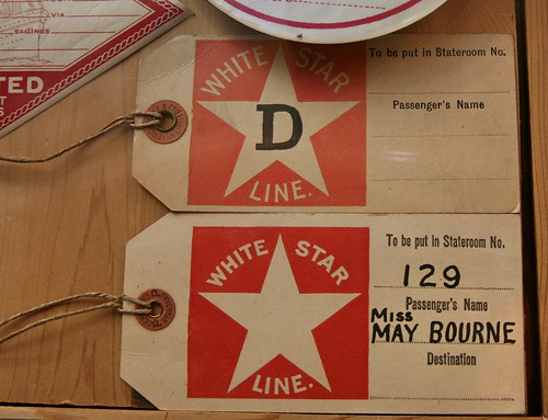 White Star Line Luggage Tags