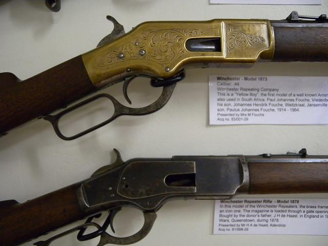 """Winchester-Gewehre """"Model 1873"""" und ..."""