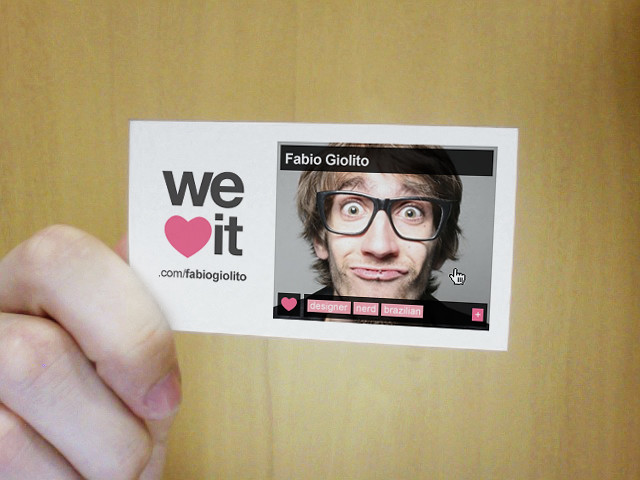 weheartit business card