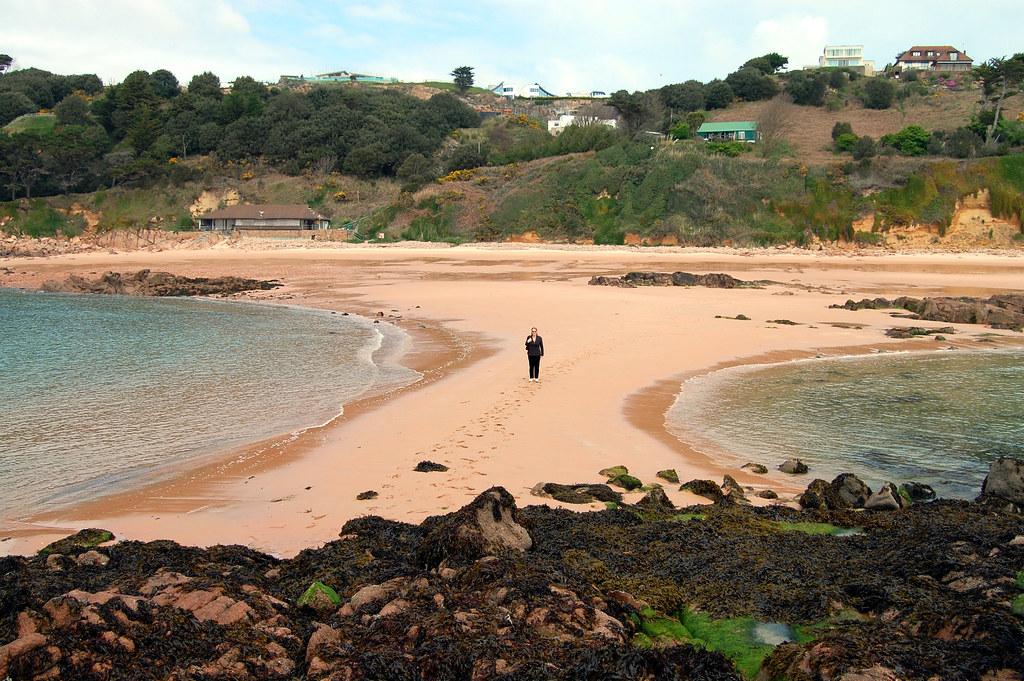 пляж Portelet