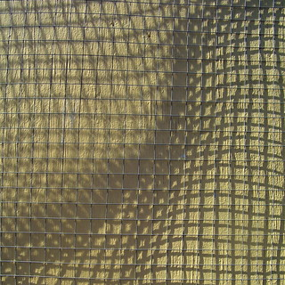 warp and weave, squares yellow