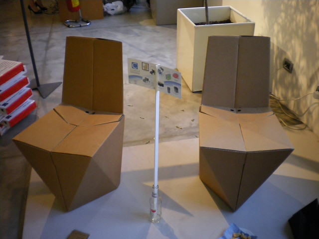 Foldable Cardboard Chair By Stuart Miller Foldable