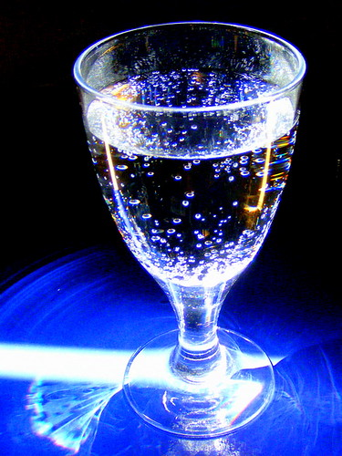 Simply a glass of water