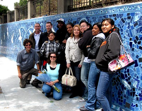Fell Street Mosaic Wall