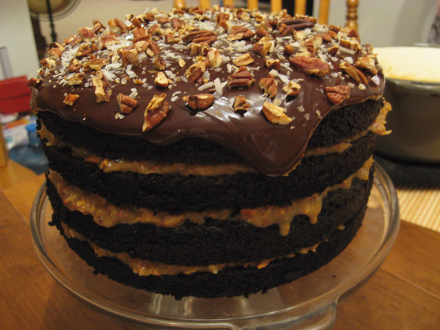 German Choc Cake Receipe With Store Bought Mix