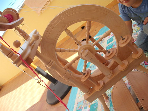 Ashford Traveller Spinning Wheel