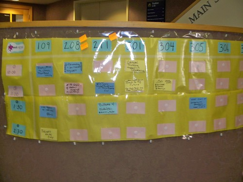 edcamp Philly - The board coming together