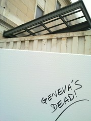 Geneva's dead!