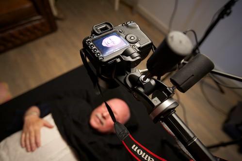 Opnames video installatie Volksbuurtmuseum