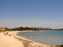 One of Pula's brilliant beaches