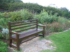 bench, outdoor furniture, furniture, garden,