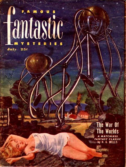 Fantastic Story Magazine 1950 Pulp Comic Books: Fantastic Story Magazine
