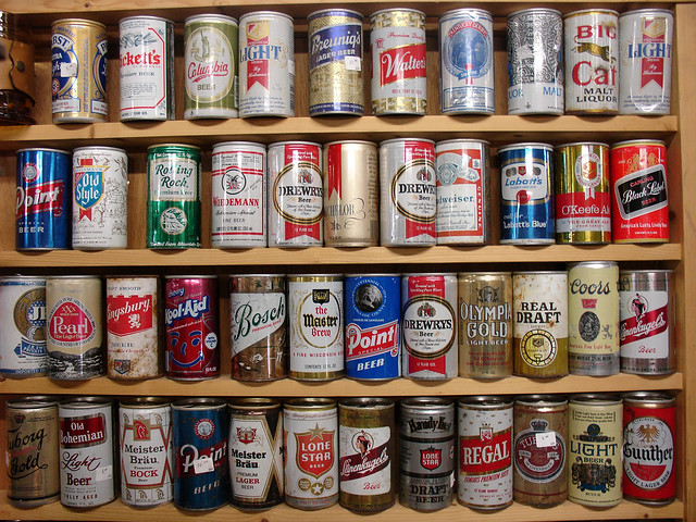 Old Beer Cans 96