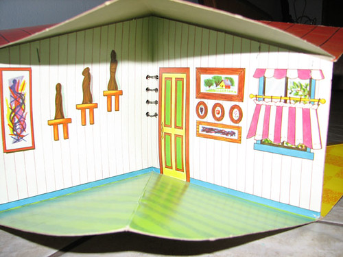 Fold-A-Magic Doll House