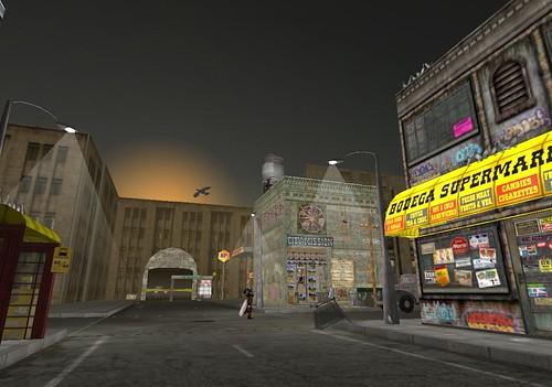 Slum city