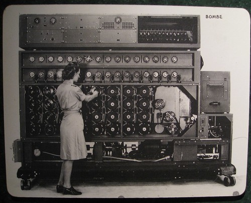 US Navy Cryptanalytic Bombe by brewbooks, on Flickr