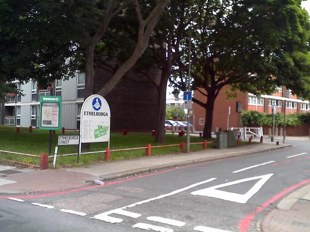 Ethelburga Estate Battersea