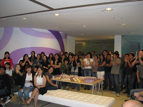 singapore birthday cake