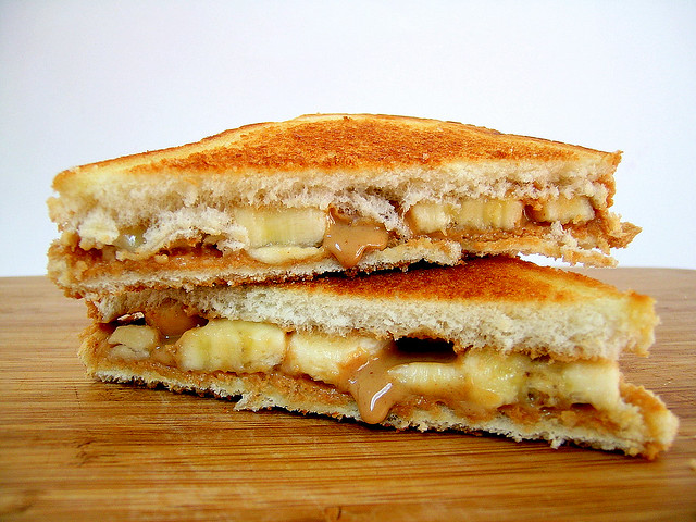 Elvis Presley's Fried Peanut Butter And Banana Sandwich | Flickr ...
