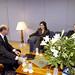 """23/03/2004, Συνάντηση με την Πρόεδρο του """"Αθήνα 2004"""" Γ. Αγγελοπούλου"""