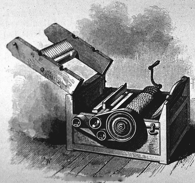 eli whitney and the cotton gin A year later he invented the famous cotton gin, a machine used to separate cotton seeds from cotton fiber  eli whitney and interchangeable parts: .