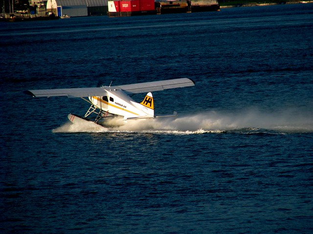 Coal Harbour float planes