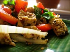 scrambled tempeh