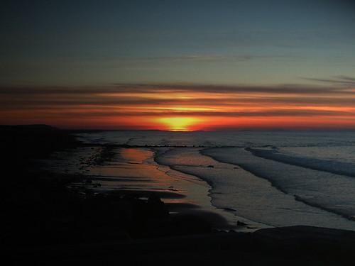 sunset coast scotland moray portgordon