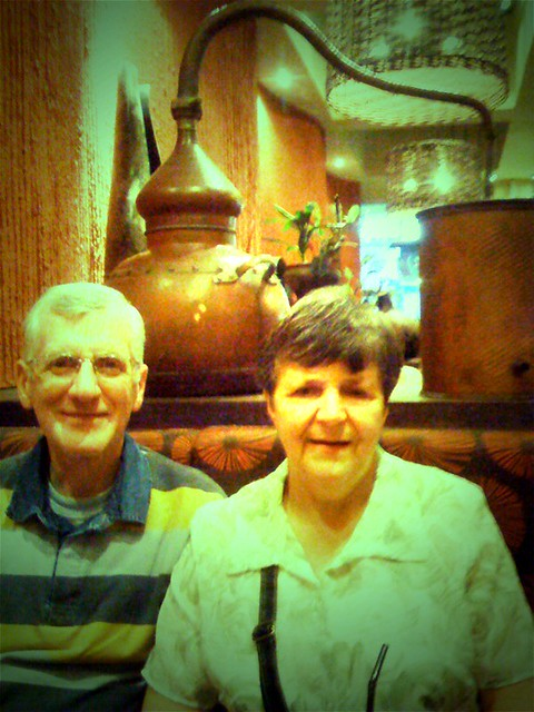 Mum & Dad in Nando's #1