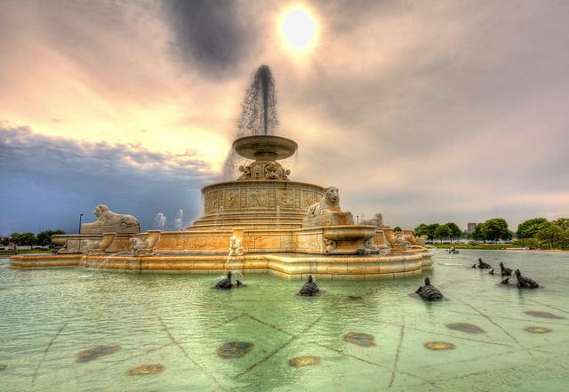Scott Fountain - Belle Isle (6/6/09)