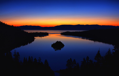 Lake Tahoe Like A Mirror