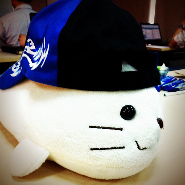 Seal with Ecolab hat
