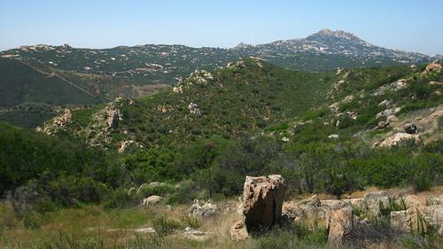Looking southwest