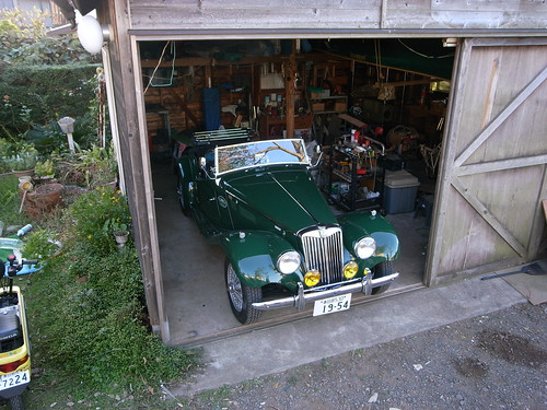 MG TF-1500 in Garage