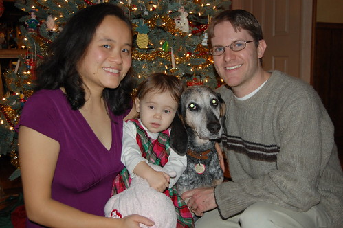 Chistmas Eve Family Portrait