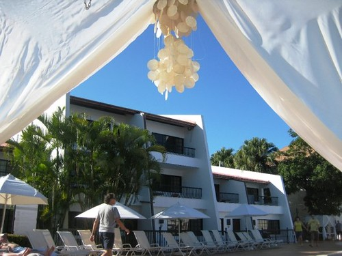 Outdoor Bed and Canopy