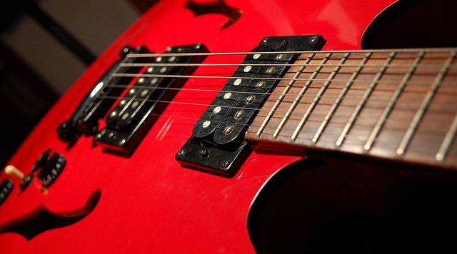 Photo:New Guitar I By gfhdickinson