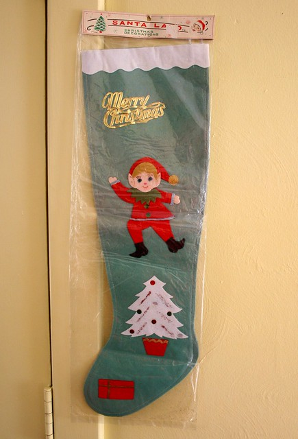 Japan Christmas Elf Face Craft Parts