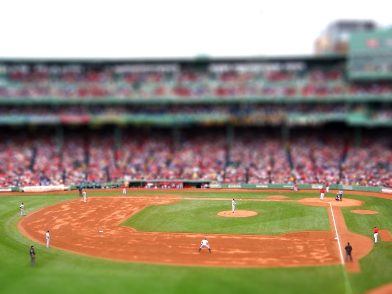 Red Sox vs. Yankees Monster Seat view