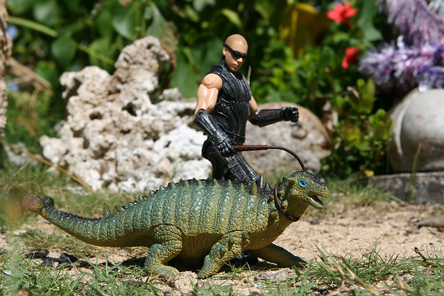 Day 151 -- Riddick's Pet Ankylosaur, by davidd