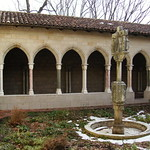 The Trie Cloister:  The Garden in Winter