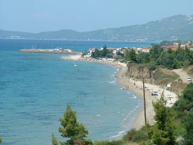 Κεντρική Μακεδονία - Χαλκιδική - Δήμος Παλλήνης Νέα Σκιώνη - το λιμάνι