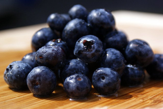 como comer Blueberries eua