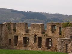 alte Mauern mit Ausblick